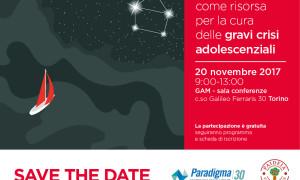 """SAVE THE DATE: seminario """"La comunità come risorsa per la cura delle gravi crisi adolescenziali"""""""